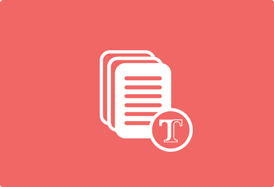 Document Stack Icon with Texidium Logo