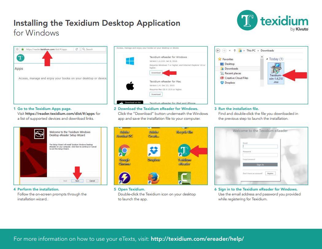 Installing Texidium Apps